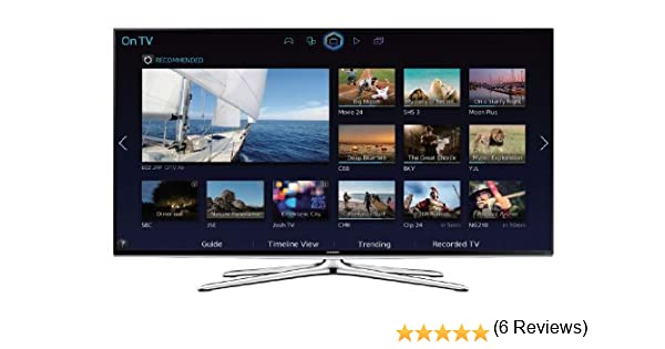 Samsung UE40H6200AW 40 Full HD Compatibilidad 3D Smart TV WiFi Negro - Televisor (1.4a, Full HD, A+, 16:9, 16:9, 1920 x 1080 (HD 1080)): Amazon.es: Electrónica