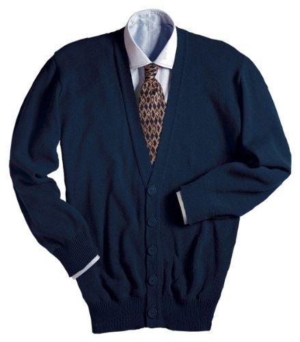 Ed Garments Men's 351 Cardigan Sweaters (Navy M) -