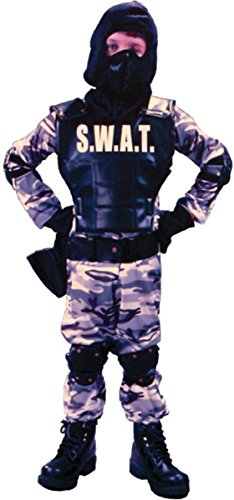 Swat Costume S W A T (S.W.A.T. Child Costume Size Large)