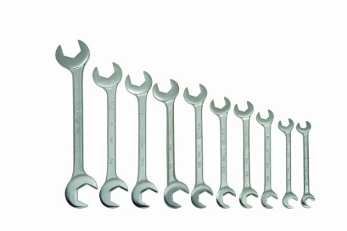 Williams 3782 10-Piece Double Open End Wrench Set ()