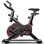 41210U%2BUmfL. SS150 XJYA Bici da Spinning con volano da 20Kg - Cyclette Spin Bike da Corsa per Allenamento Fitness con cardiofrequenzimetro e Software di monitoraggio