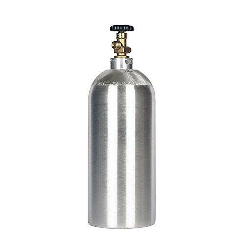 - 10lb co2 Tank New Aluminum Cylinder with CGA320 Valve