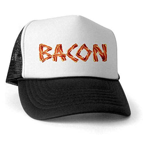 LUDEM Bacon Trucker Hat Trucker Hat Classic Baseball Hat Unique Trucker Cap