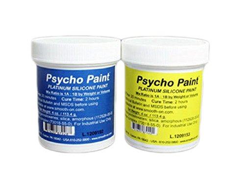 Psycho Paint Silicone Paint Base - 8 oz. Kit ()