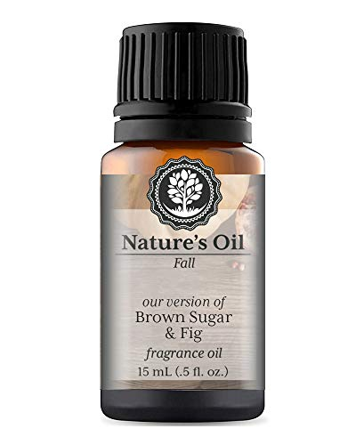 Brown Sugar & Fig Fragrance Oil (15ml) For Diffusers, Soap Making, Candles, Lotion, Home Scents, Linen Spray, Bath Bombs, Slime