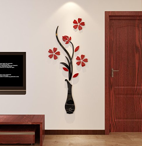 Hermione Baby 3D Vase Wall Murals for Living Room Bedroom Sofa Backdrop Tv Wall Background, Originality Stickers Gift… 2