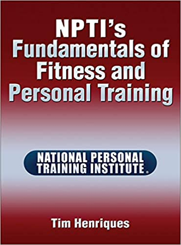 Amazon Com Npti S Fundamentals Of Fitness And Personal