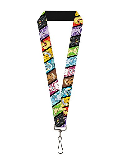Pokemon Eevee Evolution Lanyard Photo - Pokemon Gaming