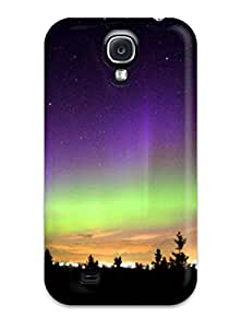 Durable Case For The Galaxy S4- Eco-friendly Retail Packaging(northern Lights)