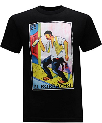 El Borracho Funny Men's T-Shirt - M
