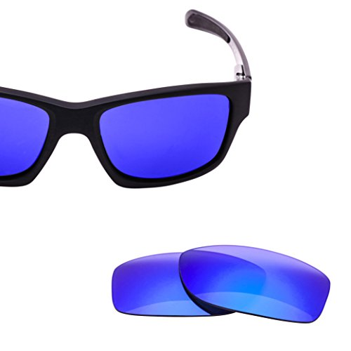 LenzFlip Lens Replacement Oakley JUPITER CARBON Sunglasses - Gray Polarized with Blue Mirror - Lenses O Mirror Oakley Frame