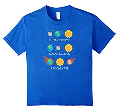 Total Solar Eclipse Funny Apocalypse Lunar Space shirt gift