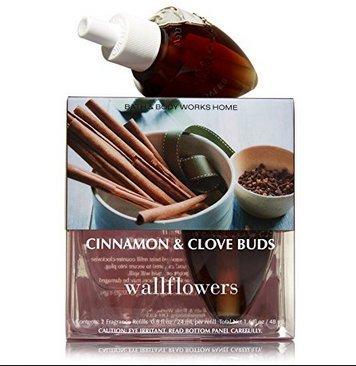 Bath & Body Works Cinnamon and Clove Buds Wallflowers - Slatkin & Co. Home Fragrance Diffuser Refills - 2 bulbs by Bath & Body Works