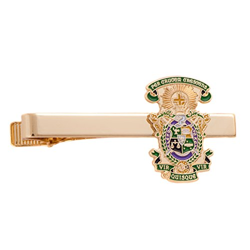 Lambda Chi Alpha Fraternity - Desert Cactus Lambda Chi Alpha Fraternity Crest Tie Bar Greek Formal Wear Blazer Jacket Lambda Chi (Crest Tie Bar)