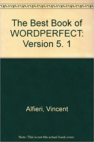 The Best Book of Wordperfect 5.1