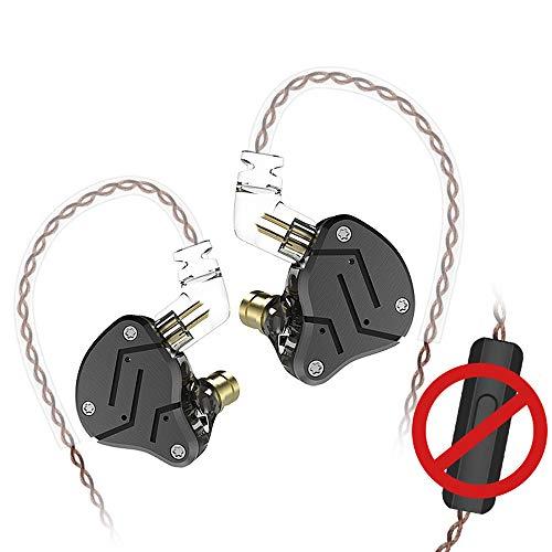 Auriculares de diadema KZSN con monitor de orejas 1DD + 1BA Armadure con doble driver extraíble para auriculares de oreja de...
