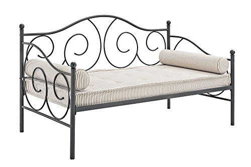 Victoria Metal Daybed and Trundle, White