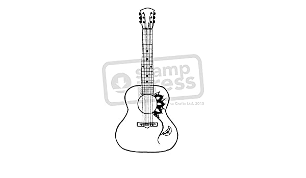 A7 Guitarra Acustica Sello de Goma (Desmontado) (SP00003817 ...