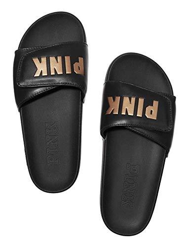Victoria s Secret PINK Crossover Comfort Slide Sandals Shoes