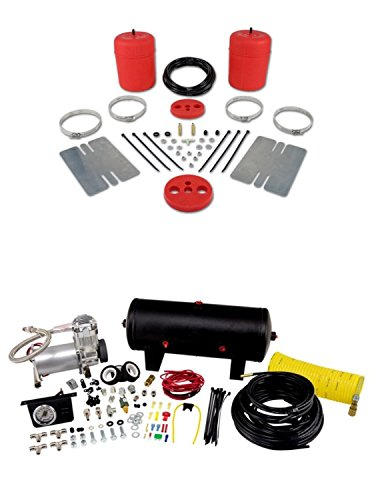 Air Lift 60744/25690 Set of Rear Air Lift 1000 Series w/Quick Shot System Kit for Lemans/Cutlass/Malibu/Skylark