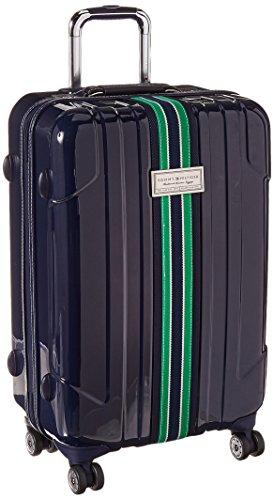 Tommy Hilfiger Santa Monica Hardside 24 Inch Spinner, Navy, One Size (Hardside Luggage Metal)