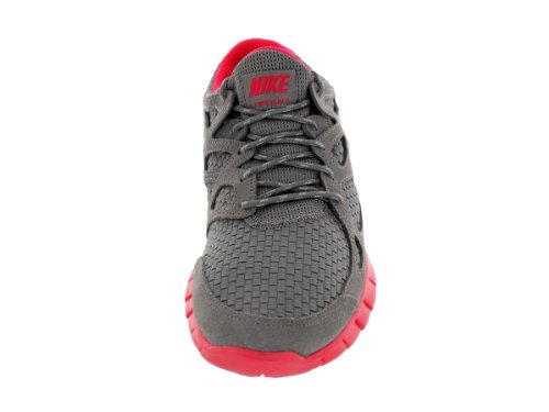Nike Menns Free Run 2 Vevd Joggesko Sport Grå / Sport Grå / Flamme