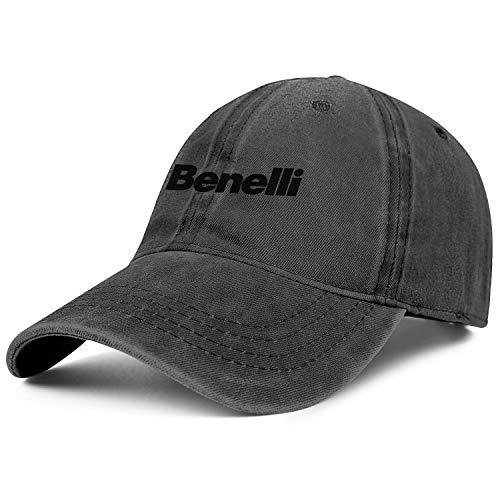 Mens Womens Benelli-Logo- Adjustable Vintage Summer Hats Baseball Washed Dad Hat Cap