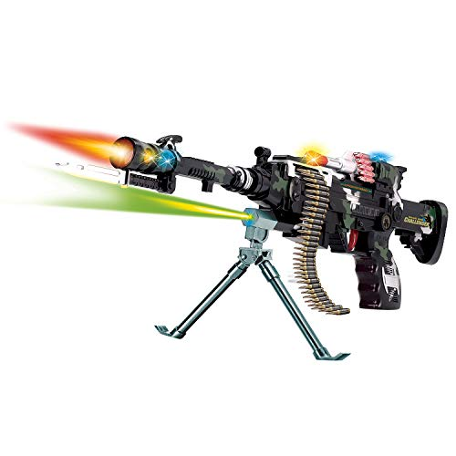 22 inch Rapid Fire Machine Combat 3 Gun with Lights and Sound