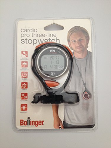 Cardio Pro Three-line Stopwatch