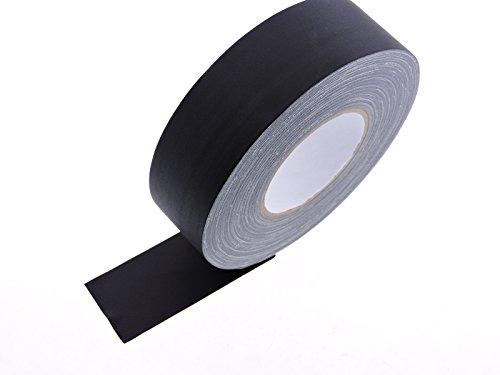 2-x-60-yd-black-gaffers-cord-hold-down-tape-carpet-floor-concrete-stage-show-audio-video-studio-clot