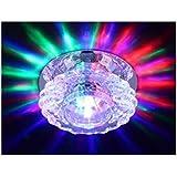 نجفة إضاءة مصباح سقف LED كريستال جديدة عصرية 10 cm * 10 cm * 4 cm ملون