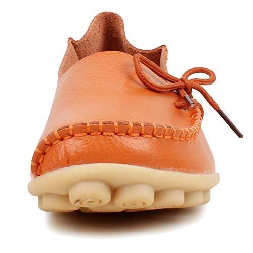Loafer Femme Basses Orange Fangsto Flats qn8FYaqR