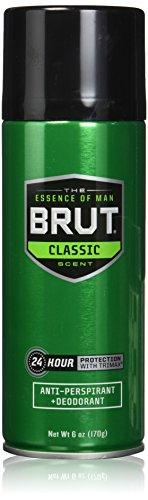 Brut Anti-perspirant Deodorant Spray, Classic 6 Oz