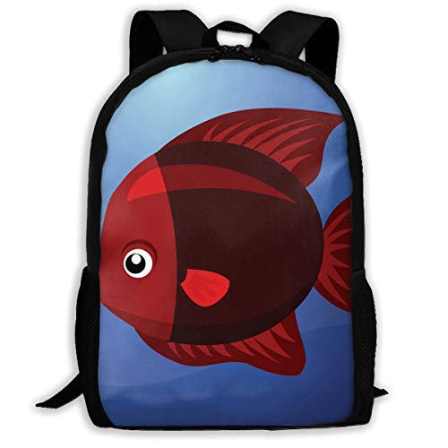 Backpack A Fish Mens School Backpacks Amazing Gift