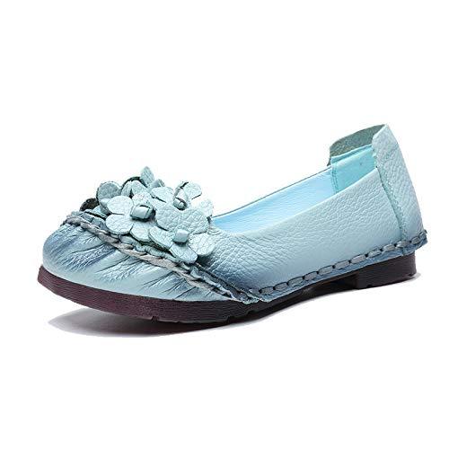 ZHRUI Schuhe (Farbe   Blau Größe   EU 38)