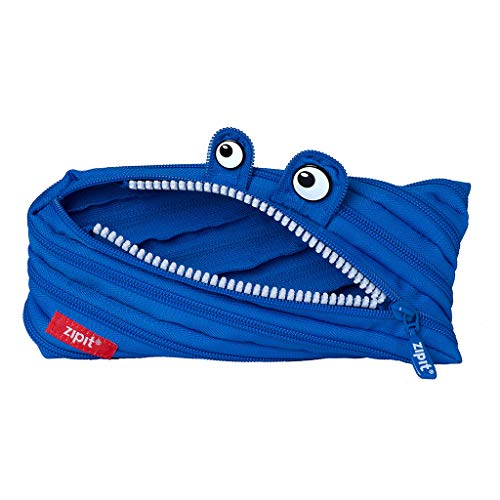 ZIPIT Monster Pencil Case, Royal Blue ()
