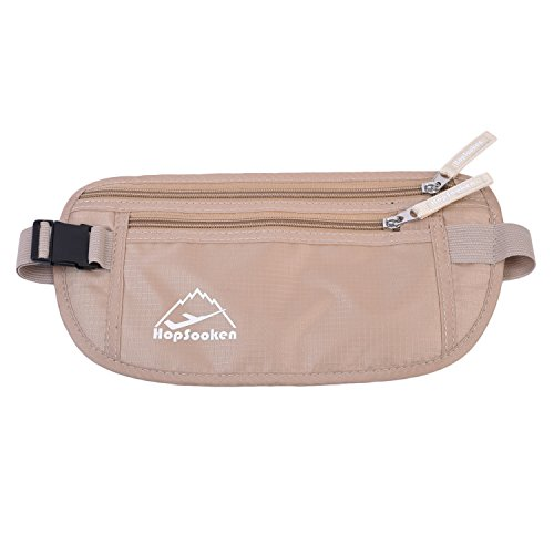 Waist Fanny Pack Belt Bag Camping Hiking Phone Pouch Khaki - 6