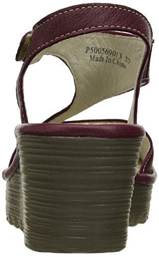 London FLY London Womens Yanca FLY Magenta Dress Sandal 013 1E6wq6xd