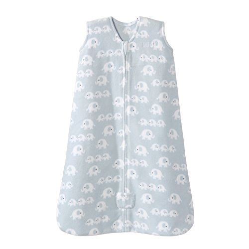 Halo Sleepsack Wearable Blanket Micro Fleece - 3 Elephants Blue,