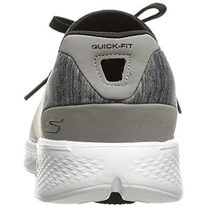 Skechers Performance Women's Go Walk 4 A.D.C. All Day Comfort Walking Shoe,Gray/Black,11 M US