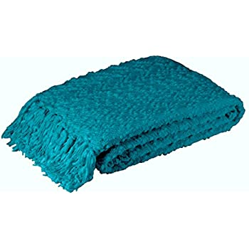 Amazon Com Decorative Light Weight Chenille Throw Blanket