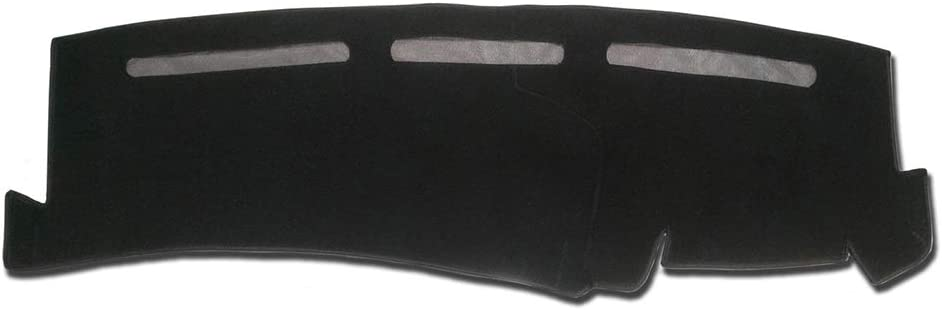 Hex Autoparts Dash Cover Mat Dashboard Pad Black for Chevy Silverado 1500 2500 Tahoe 01-06