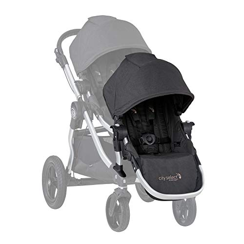 Triple Stroller Baby Jogger - 2019 Baby Jogger City Select Double Stroller (Jet)