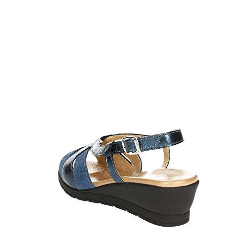 Sandale Soft 002 Femme CS IO3690 Bleu Cinzia dIwqPvTnP