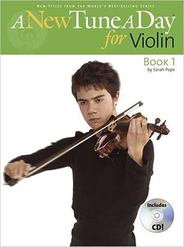 Amazon com: New Tune A Day For Violin Book 1 (A New Tune a
