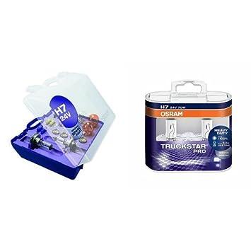 in in a box 3 flat fuse Osram CLKH424V lamp kit 12 lamps 24V H4