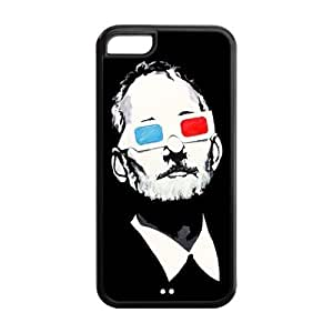 Keep Calm Bill Murray Durable TPU Protective Case For Iphone 6 plus (5.5) (Black, White)
