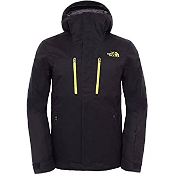 414dbc2791 THE NORTH FACE - Veste Ski Homme - CONTRIN JACKET M Noir - tailles: M:  Amazon.co.uk: Sports & Outdoors