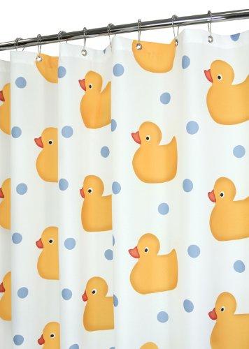 Superior Park B. Smith Ducky Time Shower Curtain, Tropical Sky