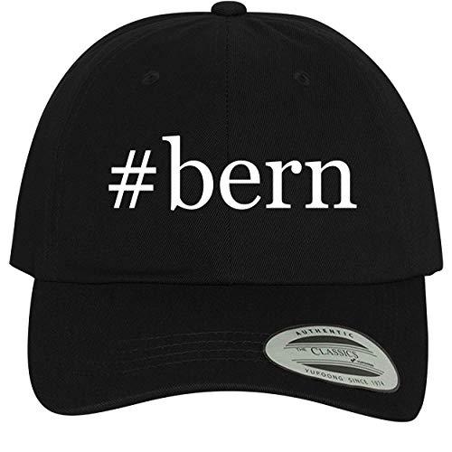 (#Bern - Comfortable Dad Hat Baseball Cap, Black)